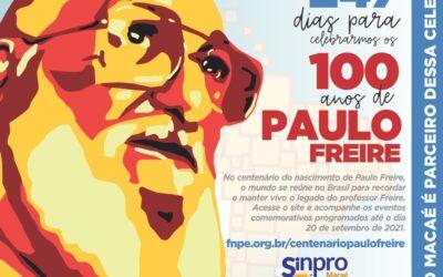 Rumo ao centenário do nascimento de Paulo Freire