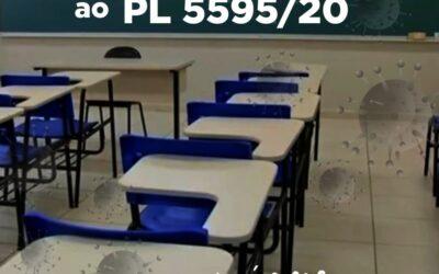 Sinpro Macaé e Região se posiciona contra PL 5595/2020, que autoriza o retorno das aulas presenciais