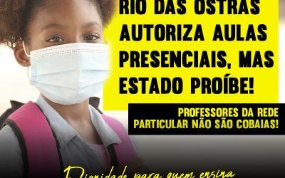 Volta às aulas: uma faca de dois gumes em Rio das Ostras