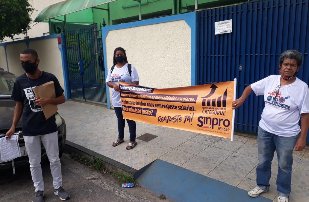 Campanha Salarial 2021: Sinpro Macaé e Região Continua a MOBILIZAÇÃO!