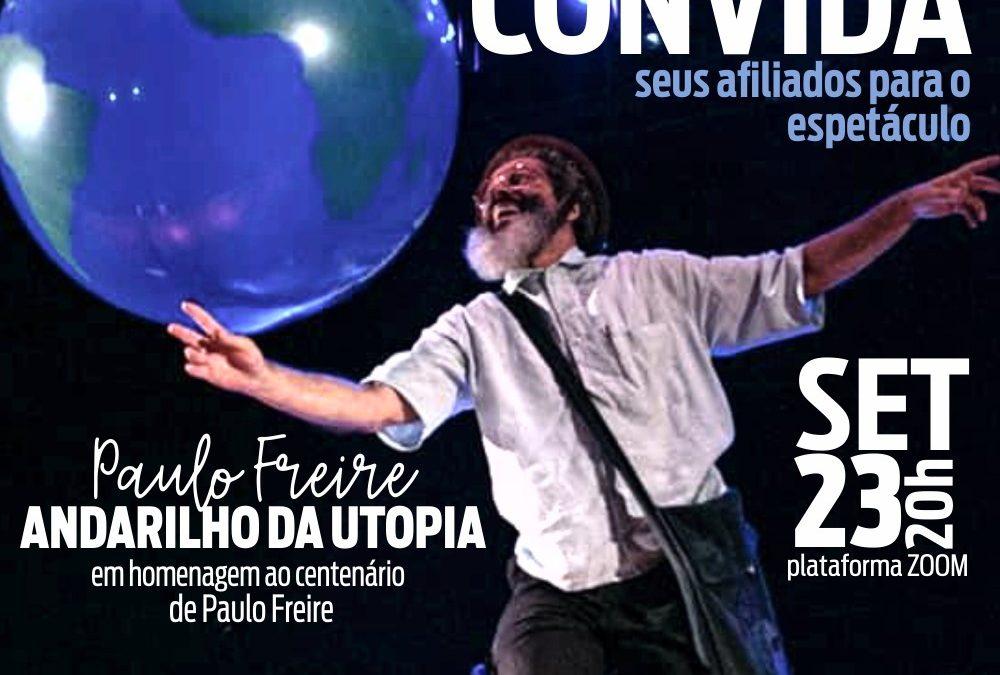 CENTENÁRIO DE PAULO FREIRE |O Sinpro Macaé e Região quer deixar esse momento ainda mais especial.